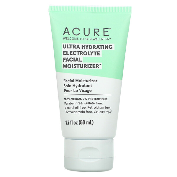 Acure, Ultra Hydrating Electrolyte Facial Moisturizer, 1.7 fl oz (50 ml)