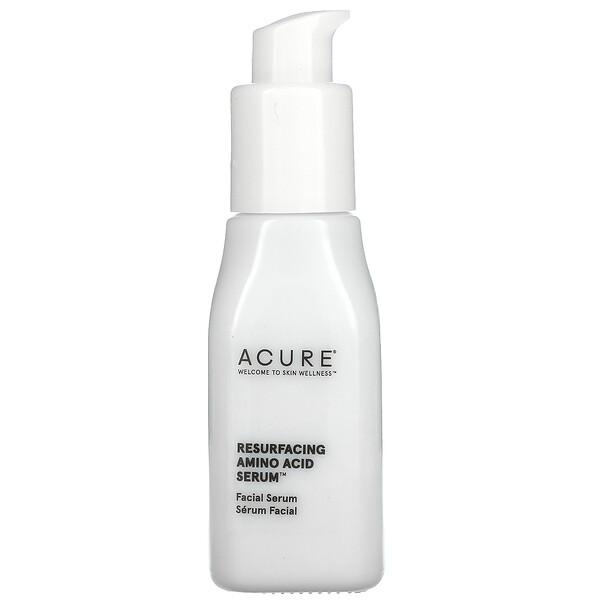 Acure, Resurfacing Amino Acid Serum, 1 fl oz (30 ml)