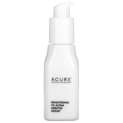 Acure Brightening 2% Alpha Arbutin Serum, 1 fl oz (30 ml)