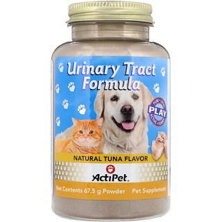 Actipet, Urinary Tract Formula, For Dogs & Cats, Natural Tuna Flavor, 67.5 g