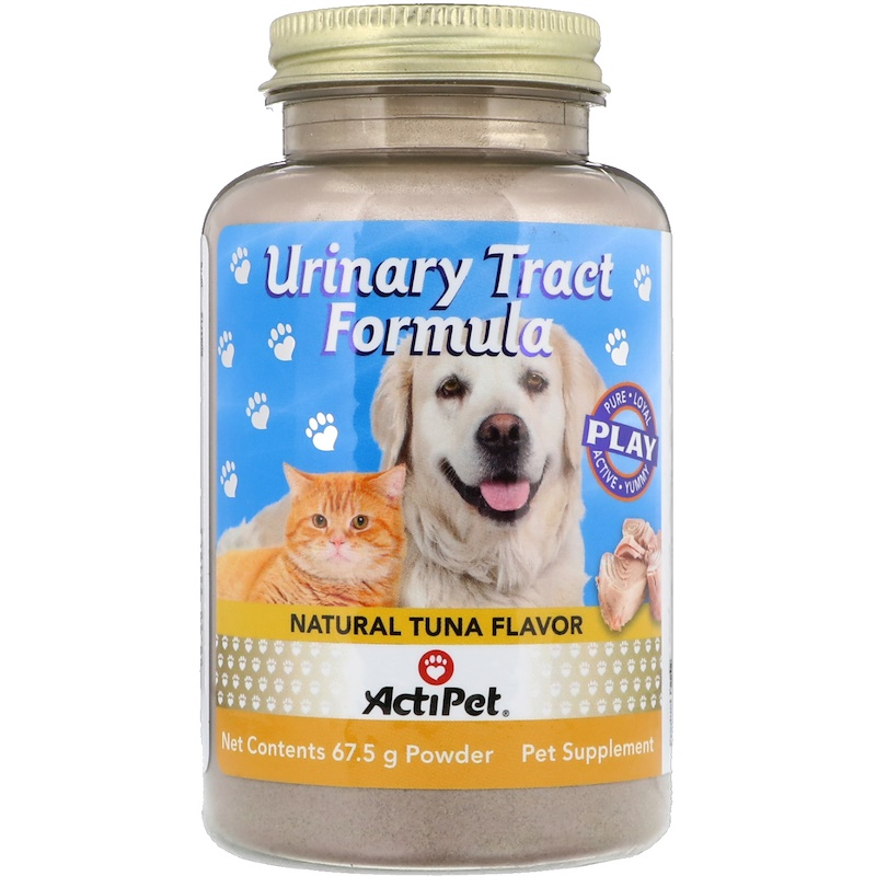 Urinary Tract Formula, For Dogs & Cats, Natural Tuna Flavor, 67.5 g