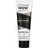 Active Wow, 24K White, All Natural Whitening Toothpaste, Charcoal + Mint, 4 oz (113 g)