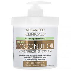 Advanced Clinicals, 椰油保濕霜,16 盎司(454 克)