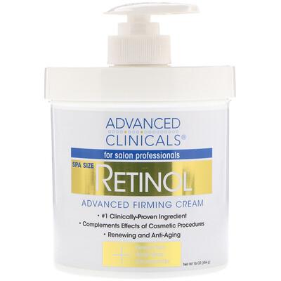 Купить Advanced Clinicals Retinol, укрепляющий укрепляющий крем, 16 унций (454 г)