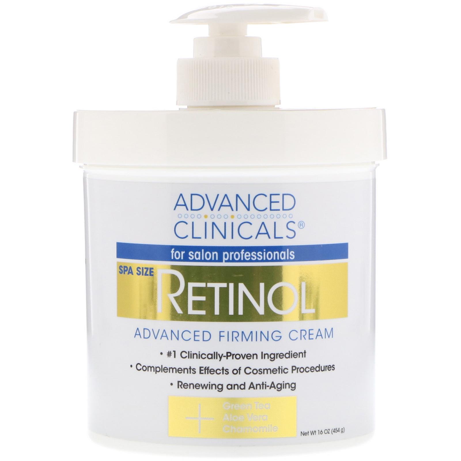 Advanced Clinicals, Retinol, Advanced Firming Cream, 16 oz