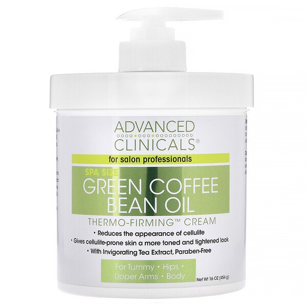 Green Coffee Bean Oil, Thermo-Firming Cream, 16 oz (454 g)