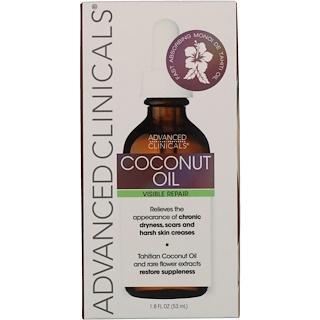 Advanced Clinicals, Coconut, Visible Repair Oil, 1.8 fl oz (53 ml)