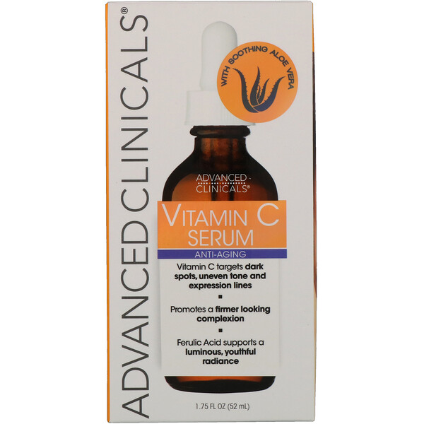 Advanced Clinicals, Vitamin C, Anti Aging Serum, 1.75 fl oz (52 ml)