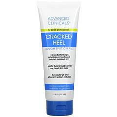 Advanced Clinicals, Cracked Heel, Rough Sport Cream, 8 fl oz (237 ml)