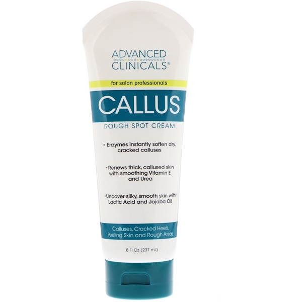 Advanced Clinicals, Callus, Creme para Pele Áspera, 8 fl oz (237 ml)