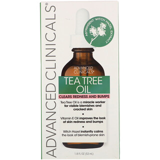 Advanced Clinicals, Tea Tree Oil, 1.8 fl oz (53 ml)