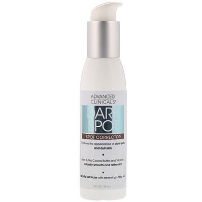 Advanced Clinicals Dark Spot, Spot Corrector, 4 fl oz (118 ml)  - купить со скидкой