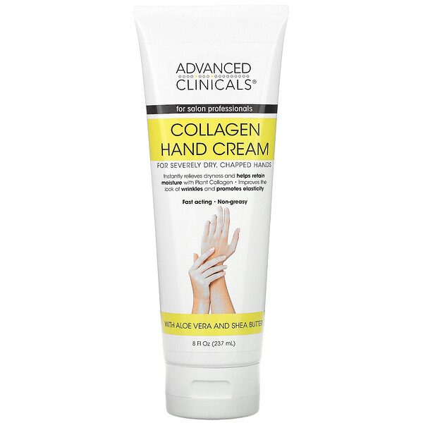 Collagen Hand Cream,  8 fl oz (237 ml)