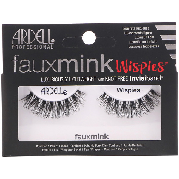 Faux Mink, Wispies, 1 Pair