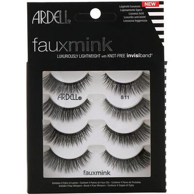 Купить Ardell Faux Mink, Lash #811, 4 Pairs