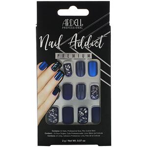 Ardell, Nail Addict Premium, Matte Blue, 0.07 oz (2 g) отзывы