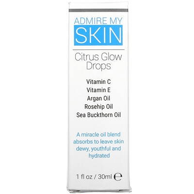 Купить Admire My Skin Citrus Glow Drops, 1 fl oz (30 ml)
