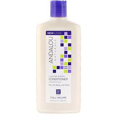 Andalou Naturals, 護髮素,豐盈,薰衣花草和生物素,11.5液量盎司(340毫升)