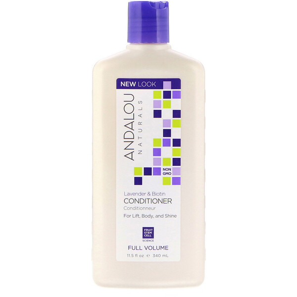 Conditioner, Full Volume, For Lift, Body, and Shine, Lavender & Biotin, 11.5 fl oz (340 ml)
