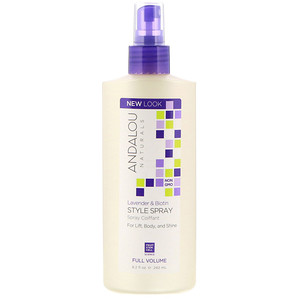 Андалу Натуралс, Style Spray, Full Volume, Lavender & Biotin, 8.2 fl oz (242 ml) отзывы покупателей
