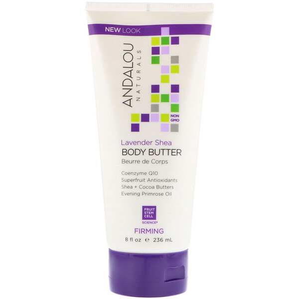 Andalou Naturals, Body Butter, Firming, Lavender Shea, 8 fl oz (236 ml)