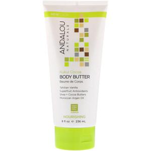 Андалу Натуралс, Body Butter, Nourishing, Kukui Cocoa, 8 fl oz (236 ml) отзывы