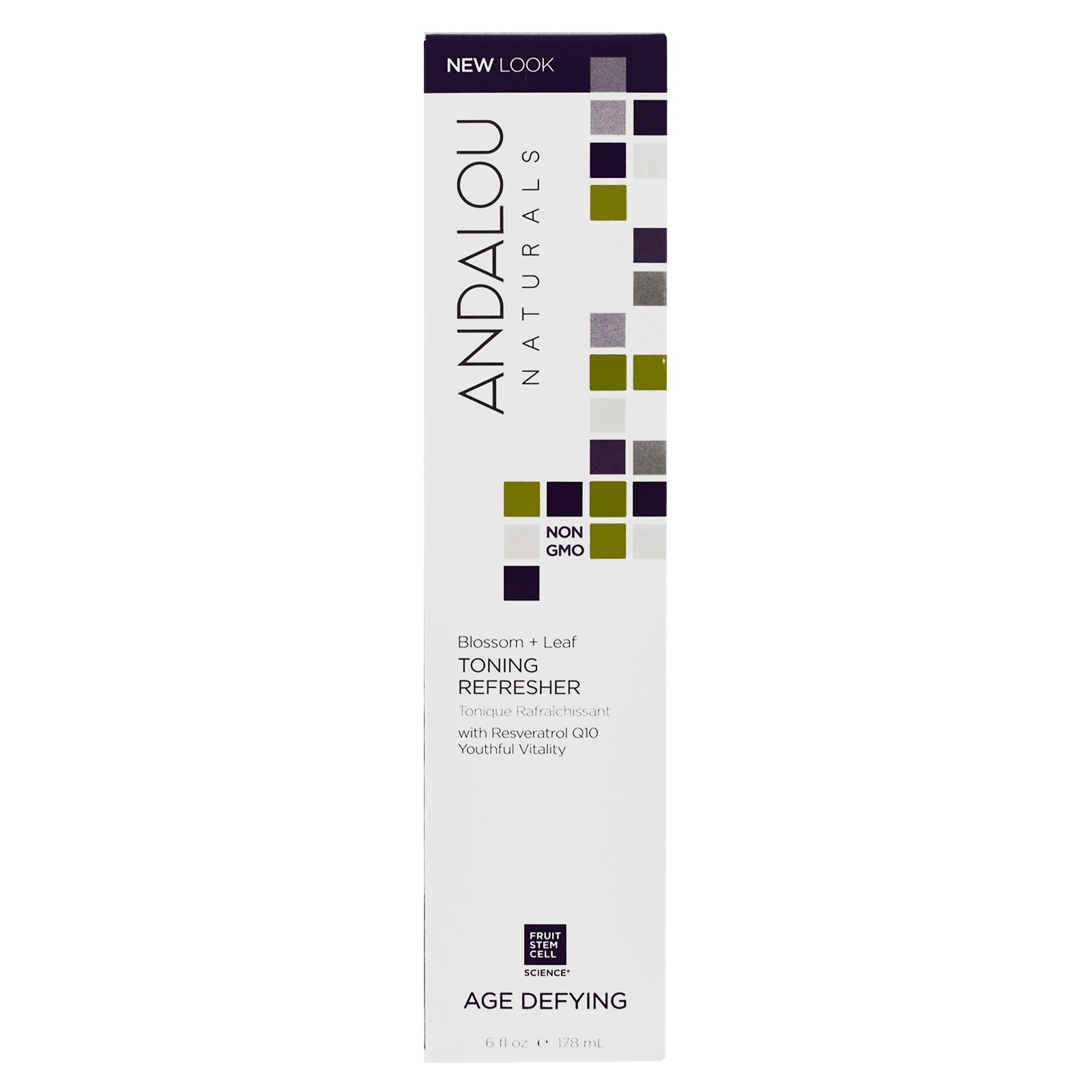 Andalou Naturals, Toning Refresher, Blossom & Leaf, 6 fl oz (178 ml)