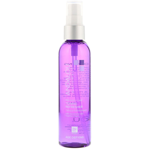 Toning Refresher, Blossom + Leaf, Age Defying, 6 fl oz (178 ml)