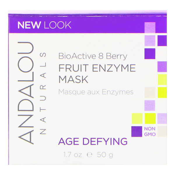 Fruit Enzyme Mask, BioActive 8 Berry, Age Defying, 1.7 oz (50 g)