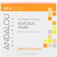 Гликолевая маска, с тыквой и медом, осветляющая, 1.7 жидких унций (50 мл) - фото