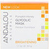Andalou Naturals, Glycolic Mask, Pumpkin Honey, Brightening, 1.7 oz (50 g)