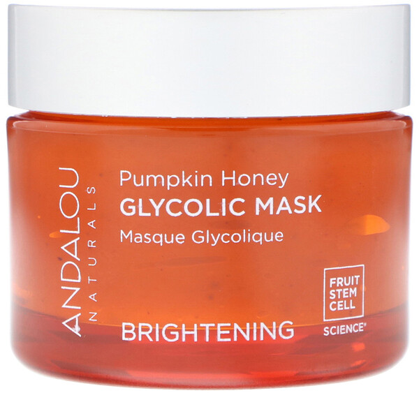 Glycolic Beauty Mask, Pumpkin Honey, Brightening, 1.7 oz (50 g)