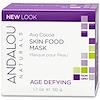 Andalou Naturals, Skin Food Mask, Avo Cocoa, Age Defying, 1.7 oz (50 g)