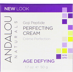 Andalou Naturals, Crema correctora, super péptidos Goji, anti-age, 1.7 fl oz (50 ml)