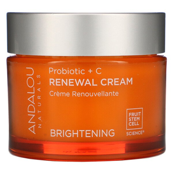 Renewal Cream, Probiotic + C, Brightening, 1.7 fl oz (50 ml)