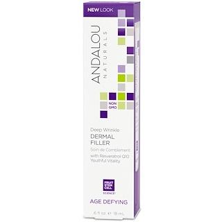 Andalou Naturals, Deep Wrinkle Dermal Filler, Age Defying, .6 fl oz (18 ml)