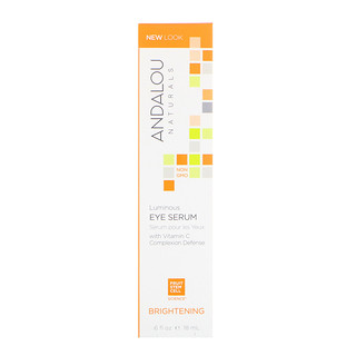 Andalou Naturals, Luminous Eye Serum, Brightening, .6 fl oz (18 ml)