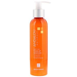 Андалу Натуралс, Lash Plus Lid Make-Up Remover, Brightening, 6 fl oz (178 ml) отзывы покупателей