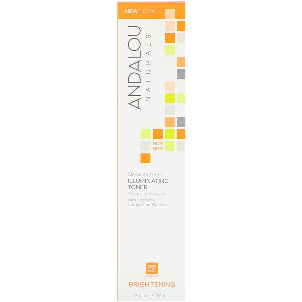 Illuminating Toner, Clementine + C, Brightening, 6 fl oz (178 ml)