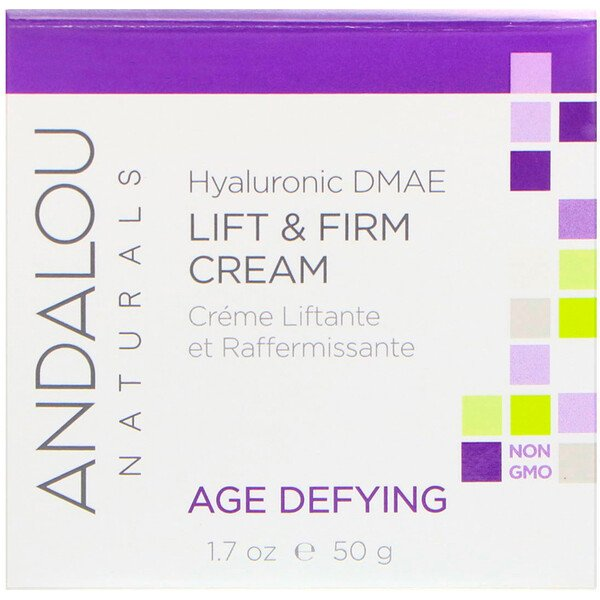 Lift & Firm Cream, Hyaluronic DMAE, 1.7 oz (50 g)