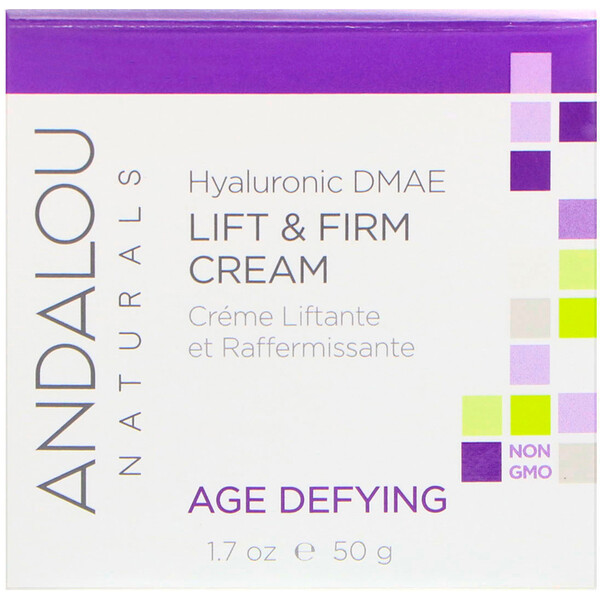 Crème liftante Lift & Firm, DMAE hyaluronique, 50 ml.