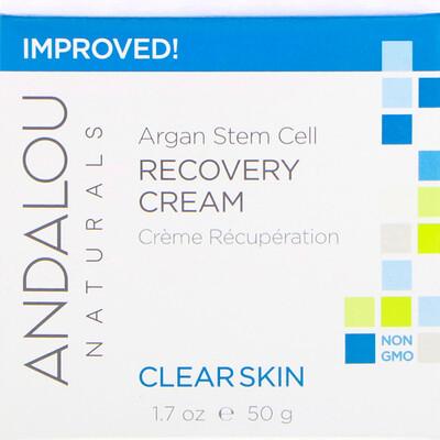 Восстанавливающий крем со стволовыми клетками аргании, очистка кожи, 50 мл (1,7 жидкой унции)