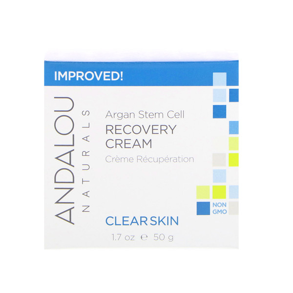 Andalou Naturals, Восстанавливающий крем из стволовых клеток арганового дерева, Чистая кожа, 50 мл (1.7 fl oz)