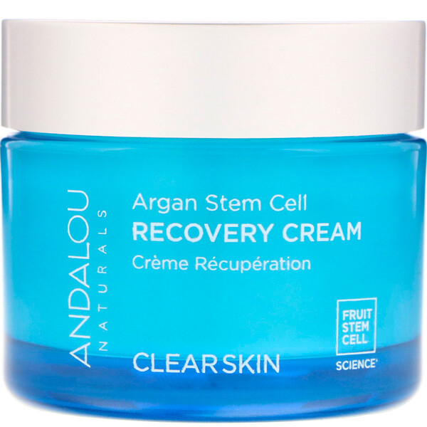 Argan Stem Cell Recovery Cream, Clearer Skin, 1.7 fl oz (50 ml)