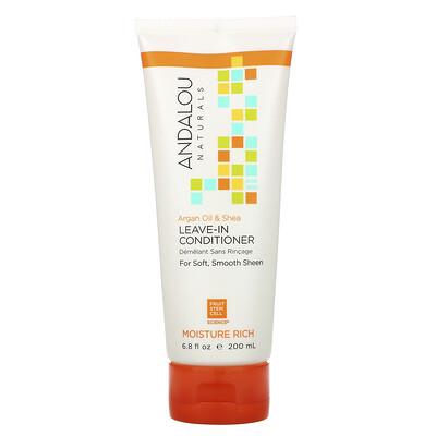 Купить Andalou Naturals Leave-In Conditioner, Argan Oil and Shea, 6.8 fl oz (200 ml)