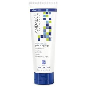 Андалу Натуралс, Argan Stem Cells Style Creme, Thinning Hair Treatment, 5.8 fl oz (172 ml) отзывы