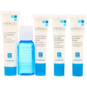 Андалу Натуралс, Get Started Clarifying, Skin Care Essentials, 5 Piece Kit отзывы покупателей