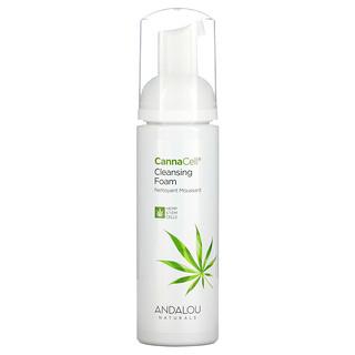 Andalou Naturals, CannaCell, Cleansing Foam, 5.5 fl oz (163 ml)