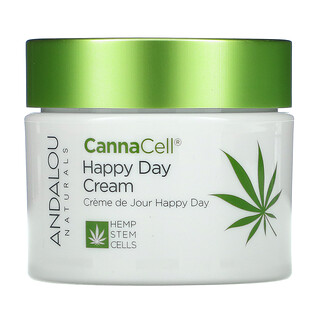 Andalou Naturals, CannaCell, Happy Day Cream, 1.7 oz (50 g)