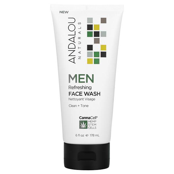 CannaCell, Men, Refreshing Face Wash, 6 fl oz (178 ml)